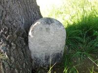 křížový kámen na Jonášových bahnech – 1709